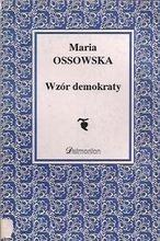 Okładka książki Wzór demokraty. Cnoty i wartości
