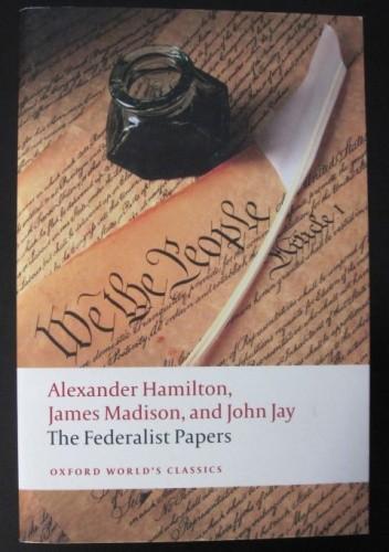 Okładka książki The Federalist Papers