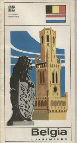 Okładka książki Belgia, Luksemburg. Przewodnik turystyczny