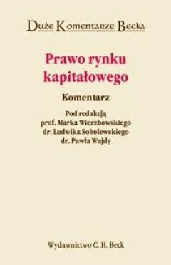 Okładka książki Prawo rynku kapitałowego. Komentarz.