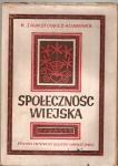 Okładka książki Społeczność wiejska. Doświadczenia i rozważania z badań terenowych w Zaborowie