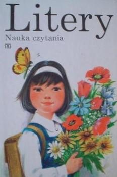 Okładka książki Litery. Nauka czytania