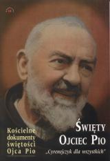 Okładka książki Święty Ojciec Pio.