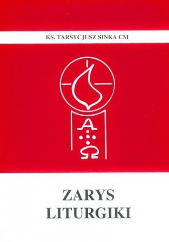 Okładka książki Zarys liturgiki