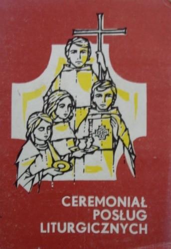 Okładka książki Ceremoniał posług liturgicznych