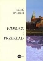 Okładka książki Wiersz i przekład