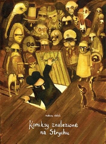 Okładka książki Komiksy znalezione na strychu