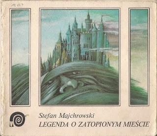 Okładka książki Legenda o zatopionym mieście