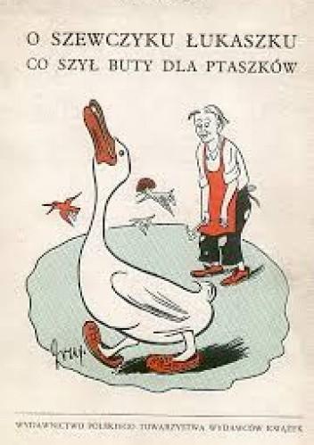 Okładka książki O szewczyku Łukaszku co szył buty dla ptaszków