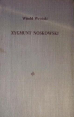Okładka książki Zygmunt Noskowski