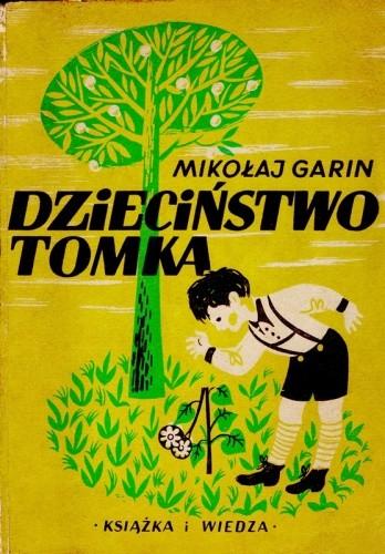 Okładka książki Dzieciństwo Tomka