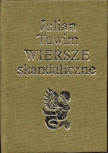 Okładka książki Wiersze Skandaliczne