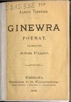 Ginewra. Poemat