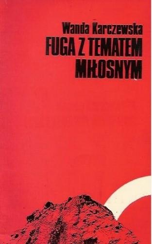 Okładka książki Fuga z tematem miłosnym
