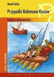 Okładka książki Przypadki Robinsona Cruzoe