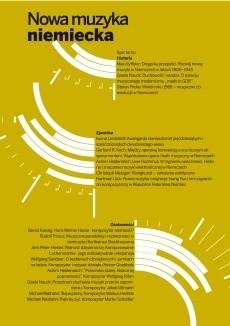 Okładka książki Nowa muzyka niemiecka