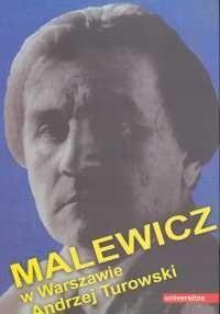Okładka książki Malewicz w Warszawie