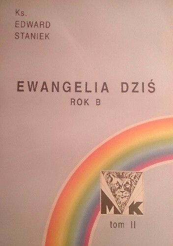 Okładka książki Ewangelia dziś. Rok B