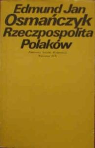 Okładka książki Rzeczpospolita Polaków