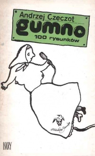 Okładka książki Gumno. 100 rysunków