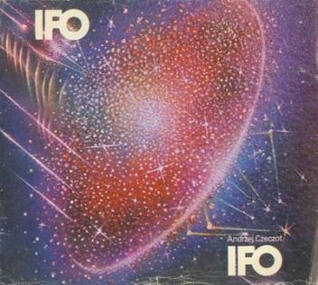 Okładka książki IFO - zidentyfikowane obiekty latające