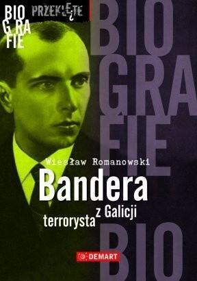 Okładka książki Bandera terrorysta z Galicji