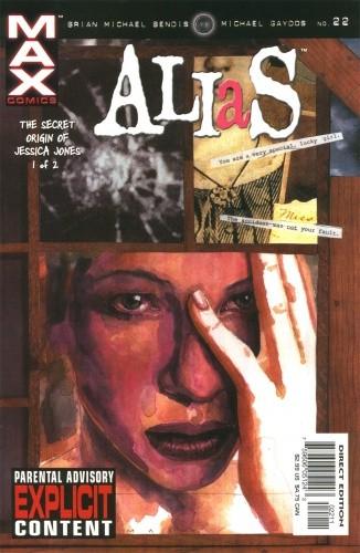 Okładka książki Alias #22 - The secret origin of Jessica Jones 1