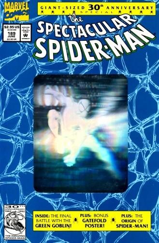 Okładka książki Spectacular Spider-man #189