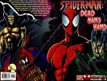 Okładka książki Spider-man - Dead Man's Hand
