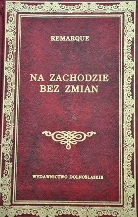 Okładka książki Na zachodzie bez zmian