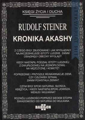 Okładka książki Kronika Akashy