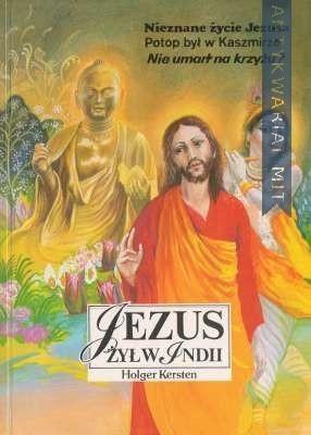 Okładka książki Jezus żył w Indii