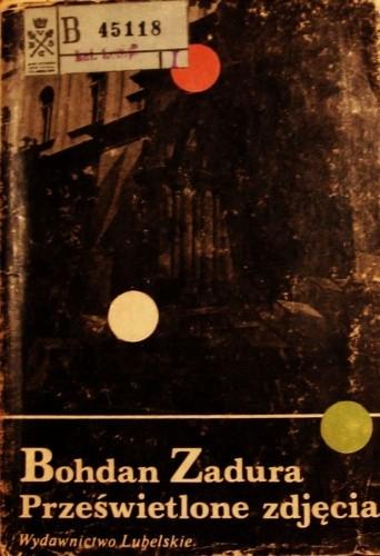 Okładka książki Prześwietlone zdjęcia