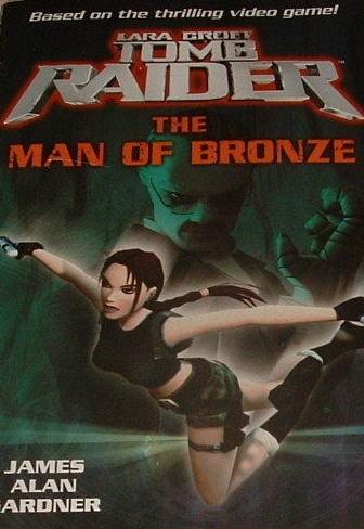 Okładka książki Tomb Raider: The Man of Bronze