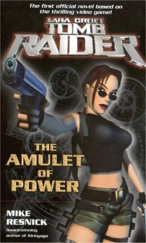Okładka książki Tomb Raider The Amulet of Power
