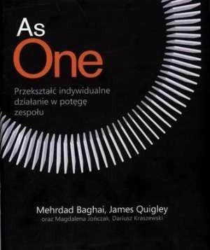 Okładka książki AS ONE. Przekształć indywidualne działanie w potęgę zespołu