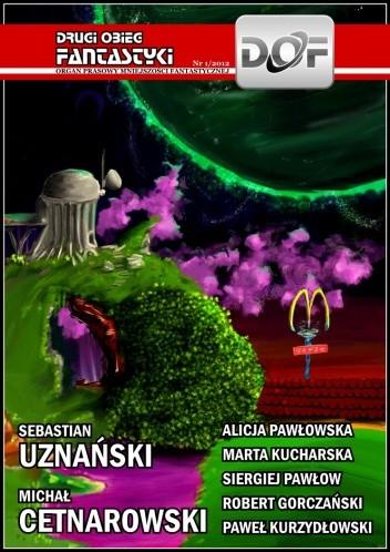 Okładka książki Drugi Obieg Fantastyki 1/2012