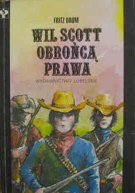 Okładka książki Wil Scott obrońcą prawa