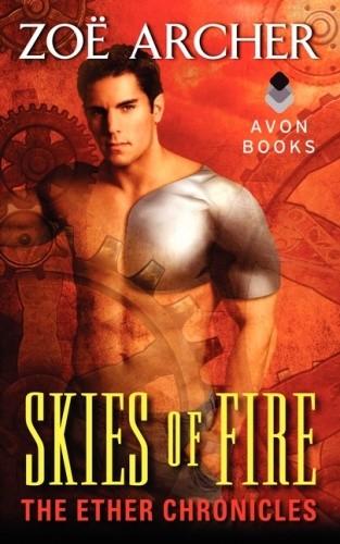 Okładka książki Skies of Fire. The Ether Chronicles