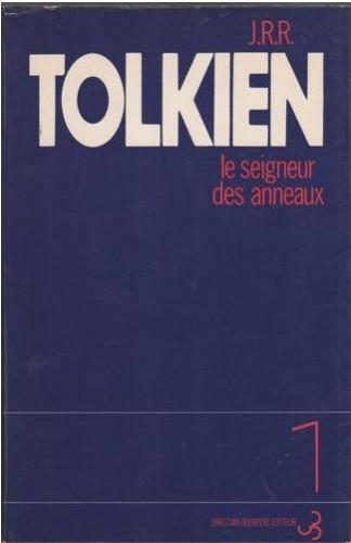 Okładka książki Le Seigneur des anneaux: La Communauté de l'anneau