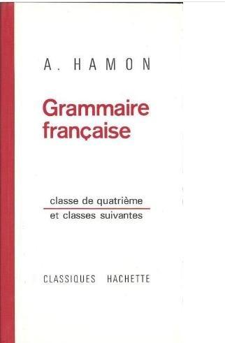 Okładka książki Grammaire française - Classes de quatrième et suivantes