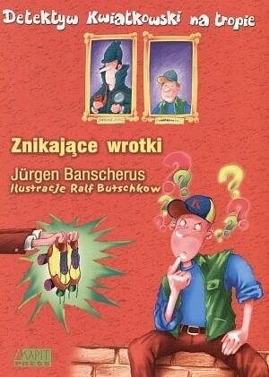 Okładka książki Detektyw Kwiatkowski na tropie. Znikające wrotki