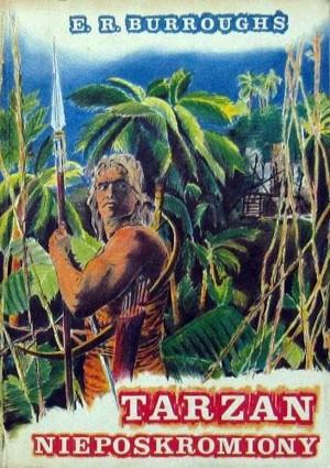 Okładka książki Tarzan nieposkromiony