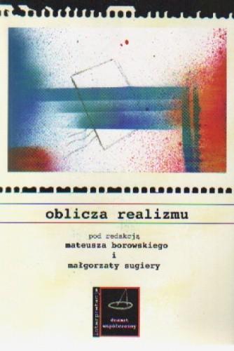 Okładka książki Oblicza realizmu