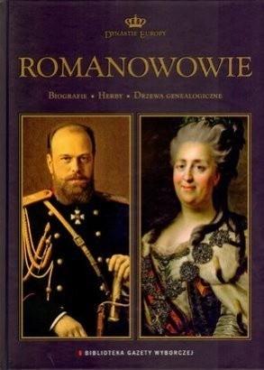 Okładka książki Romanowowie