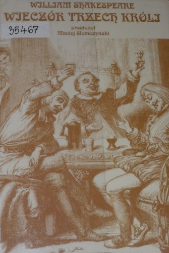Okładka książki Wieczór Trzech Króli