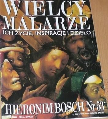 Okładka książki Wielcy malarze. Hieronim Bosch