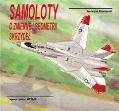Okładka książki Samoloty o zmiennej geometrii skrzydeł
