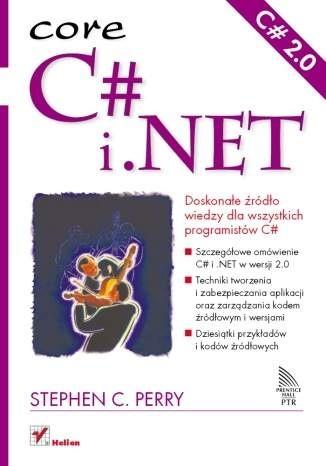 Okładka książki C# i .NET