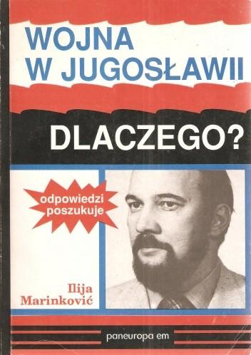 Okładka książki Wojna w Jugosławii- dlaczego?